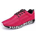 זול נעלי ספורט לגברים-בגדי ריקוד גברים רשת אביב / סתיו נוחות נעלי אתלטיקה הליכה שחור / אפור / אדום