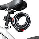 זול מנעולי ספרות-9005- מנעול אופניים סגסוגת פלדה ביטול נעילת סיסמה ל אופנייים