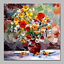 billige Stillebenmalerier-Hang malte oljemaleri Håndmalte - Still Life Vintage Lerret