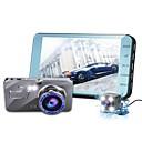 זול תיקי ערב וקלאצ'ים-1080p מיני רכב DVR 170 מעלות זווית רחבה 4 אִינְטשׁ IPS דש קאם עם ראיית לילה / לולאה מחזור הקלטה רכב מקליט