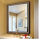 billige Oljemalerier-Speil Moderne Herdet glass 1 stk - Speil dusj tilbehør / Børstet