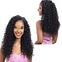 זול תוספות שיער בגוון טבעי-3 חבילות שיער ברזיאלי Kinky Curly שיער אנושי טווה שיער אדם שוזרת שיער אנושי תוספות שיער אדם / קינקי קרלי