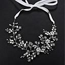 preiswerte Servietten-Ring-Perle / Krystall Stirnbänder mit Kristall / Perle 1pc Hochzeit / Freizeitskleidung Kopfschmuck