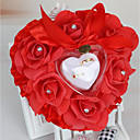 זול סרטי כתף למסיבות-סאטן כרית לטבעת רומנטיקה / חתונה כל העונות