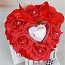 povoljno Svadbeni ukrasi-Saten ring pillow Romantika / Vjenčanje Sva doba