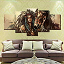 cheap Rolled Canvas Prints-Rolled Canvas Prints Modern, Five Panels Canvas Horizontal Print Wall Decor Home Decoration