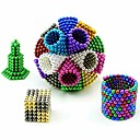cheap Magnet Toys-648/864/1000 pcs 5mm Magnet Toy Magnetic Balls Building Blocks Neodymium Magnet Stress and Anxiety Relief Office Desk Toys DIY Adults' / Children's Boys' Girls' Toy Gift