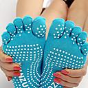 abordables Iluminación para Moto-Mujer Calcetines de yoga - Azul Claro, Gris, Lila Deportes Calcetines Ropa de Deporte Transpirable, A prueba de resbalones Alta