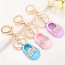 זול מזכרות מחזיקי מפתחות-רומנטיקה / חתונה / יומהולדת מצדדים במחזיק מפתחות סגסוגת אבץ מזכרות מחזיקי מפתחות - 1 pcs כל העונות