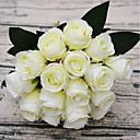 billige Kunstig Blomst-Kunstige blomster 18 Gren Pastorale Stilen Roser Bordblomst