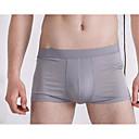 זול מגנים לטלפון & מגני מסך-בגדי ריקוד גברים נורמלי סטרצ'י (נמתח) אחיד - בינוני (מדיום) בוקסר(כותנה)1 כחול נייבי אפור סגול