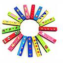 baratos Instrumentos de Sopro-Instrumento musical Para Crianças Assenta Relaxadamente Simples Diversão Metal Instrumentos Musicais