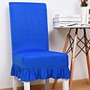 זול כיסויים-עכשווי 100% פוליאסטר ג'אקארד כיסוי לכיסא, פשוט אחיד הדפסת פיגמנטים כיסויים