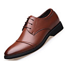 cheap Men's Oxfords-Men's Shoes Faux Leather Spring / Fall Comfort Oxfords Black / Brown
