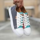tanie Adidasy męskie-Męskie Komfortowe buty Materiał Zima Adidasy Czarny / Niebieski