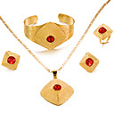 cheap Jewelry Sets-Women's Jewelry Set - Gold Plated Statement, Fashion Include Gold For Wedding Party