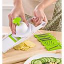 abordables Pelucas Sintéticas con Agarre-Herramientas de cocina Plásticos Múltiples Funciones Cutter & Slicer de las frutas / para vegetal 1pc