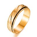 זול טבעות לגברים-בגדי ריקוד גברים טבעת הטבעת - ציפוי זהב אופנתי 7 / 8 / 9 זהב עבור מתנה אָהוּב