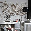 זול חולצות רכיבת אופניים-פרחוני ארט דקו 3D קישוט הבית קלסי מודרני וול כיסוי, בַּד חוֹמֶר דבק נדרש צִיוּר קִיר, Wallcovering חדר