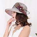 hesapli Parti Başlıkları-Kadın's Vintage Dantelalar Güneş şapkası - Dantel, Solid