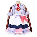 tanie Kostiumy anime-Zainspirowany przez Love Live Anime Kostiumy cosplay Garnitury cosplay Inne Bez rękawów Sukienka / Łuk / Więcej akcesoriów Na Męskie / Damskie