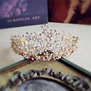 cheap Party Headpieces-Rhinestone Tiaras with Rhinestone / Pearl 1pc Wedding / Party / Evening Headpiece
