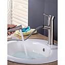 abordables Grifos de Lavabo-Grifo monomando para lavamanos con grifo monomando para lavabo de acero inoxidable Grifo monomando cepillado n25