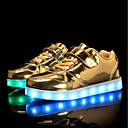 cheap Girls' Shoes-Boys' / Girls' Shoes PU Spring / Fall Comfort / Light Up Shoes Sneakers Walking Shoes Lace-up / Hook & Loop / LED for Silver / Blue / Pink