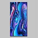 זול ציורים מופשטים-ציור שמן צבוע-Hang מצויר ביד - מופשט אומנות פופ מודרני בַּד