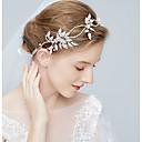 זול סטים של תכשיטים-סגסוגת אביזר לשיער עם קשת סרט 1pc חתונה / מסיבה\אירוע ערב כיסוי ראש
