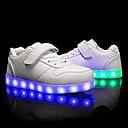 povoljno Dječje tenisice-Dječaci / Djevojčice Umjetna koža Sneakers Mala djeca (4-7s) / Velika djeca (7 godina +) Udobne cipele / Svjetleće tenisice Hodanje Vezanje / Kopčanje na kukicu / LED Crvena / Plava / Pink Proljeće