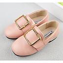 זול תחפושות אנימה-בנות נעליים מיקרופייבר PU סינתטי אביב נוחות נעליים ללא שרוכים ל שחור / בז' / ורוד