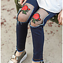 זול סטים של ביגוד לבנות-מכנסיים כותנה חלול חיצוני אחיד בנות