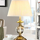 זול מנורות שולחן-סגנון חלוד/בקתה קריסטל מנורת שולחן עבור מתכת 220-240V