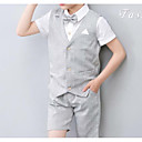 זול חולצות לבנים-סט של בגדים ללא שרוולים אחיד בנים
