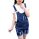 halpa Anime-asut-Tyttöjen Yhtenäinen Raidoitettu Painettu Vaatesetti Päivittäin Pyhäpäivä Puuvilla Polyesteri Kevät Kesä Lyhythihainen Yksinkertainen