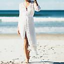 levne Luxusním povlaky Kryty-Dámské Bez ramínek Bílá Sukně Přehozy Plavky - Jednobarevné Jedna velikost Bílá / Sexy
