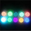 billige Negleglitter-10pcs Glitter Powder Lyse I Mørke / Bling bling drakter / Nail Art Tool