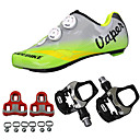 cheap Cycling Jerseys-SIDEBIKE Adults' Cycling Shoes With Pedals & Cleats / Road Bike Shoes Carbon Fiber Cushioning Cycling Green Men's