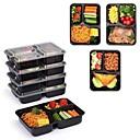 رخيصةأون قطع الطاولة-9PCS البلاستيك عازل للحرارة صندوق الغداء, أواني الطعام
