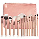 preiswerte Make-up-Pinsel-Sets-15pcs Makeup Bürsten Professional Bürsten-Satz- / Rouge Pinsel / Lidschatten Pinsel Künstliches Haar Professionell / vollständige / Holz