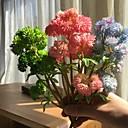 זול פרחים מלאכותיים-פרחים מלאכותיים 1 ענף פרחי חתונה / פסטורלי סגנון צמחים עסיסיים פרחים לשולחן