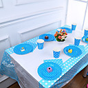 cheap Party Supplies-Birthday Party Party Tableware - Table Runners Patterned Plastics Birthday