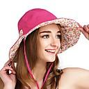 ieftine Clothing Accessories-VEPEAL Καπέλο πεζοπορίας Căciulă Alergare Pălării Rezistent la Vânt Uscare Rapidă Respirabilitate Toamnă Primăvară Vară Roșu trandafiriu Pentru femei Pescuit Drumeție Alpinism Floral / Botanic