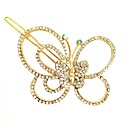 cheap Hair Jewelry-Women's Korean / Elegant Alloy Hair Clip - Solid Colored Cut Out