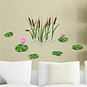cheap Wall Stickers-Decorative Wall Stickers - Plane Wall Stickers Floral / Botanical Living Room Bedroom Bathroom Kitchen Dining Room Study Room / Office