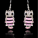 cheap Party Headpieces-Women's Drop Earrings - Bird Sweet, Fashion Pink For Party / Evening / Date