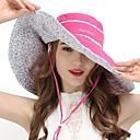 ieftine Clothing Accessories-VEPEAL Καπέλο πεζοπορίας Căciulă Alergare Pălării Rezistent la Vânt Uscare Rapidă Respirabilitate Primăvară Vară Roșu trandafiriu Pentru femei Pescuit Drumeție Voiaj Floral / Botanic