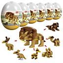 preiswerte Building Blocks-Bausteine Militärblöcke 246 pcs Tier Soldier Stress und Angst Relief Eltern-Kind-Interaktion Jungen Mädchen Spielzeuge Geschenk