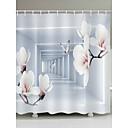 cheap Shower Curtains-Shower Curtains & Hooks Casual Modern Polyester Novelty Machine Made Waterproof Bathroom